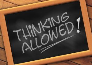 thinking allowed sign